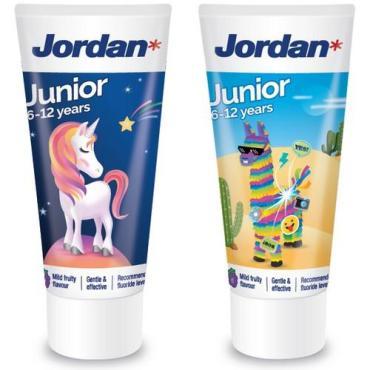 Зубная паста детская, 6-12 лет Jordan Junior, 50 мл., пластиковая туба