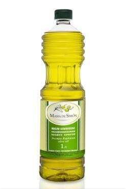 Масло оливковое Extra Virgin, Masia de Simon, 1 л, ПЭТ