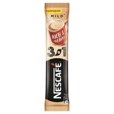 Кофе 3 в 1, мягкий, Nescafe, 18 гр., флоу-пак