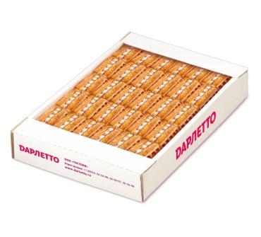 Вафли мягкие с суфле и фруктовой начинкой Малина Дарлетто, 1,08 кг., картон