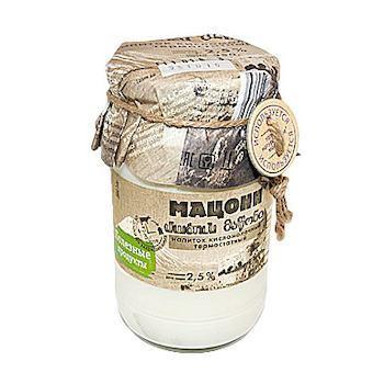 Мацони Полезные продукты, 350 гр., стекло