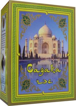 Чай черный индийский среднелистовой чай, первый сорт, 100%, эконом, Садака чай, Enrich, 100 гр., картон