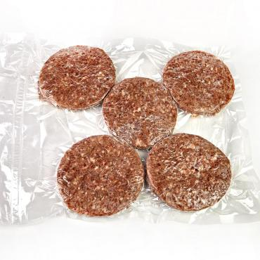 Гамбургер Фабрика кухня (1кор 100шт), Деликатес, 1,2 кг., в/у