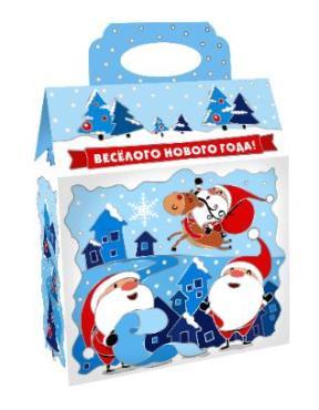 Набор кондитерский (конфеты, печенье), Сумка Сказочный Городок , Савинов, 700 гр., картон