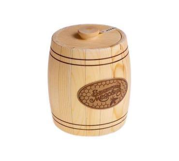 Мёд Башкирская медовня наборный липовый, 900 гр, подарочная упаковка