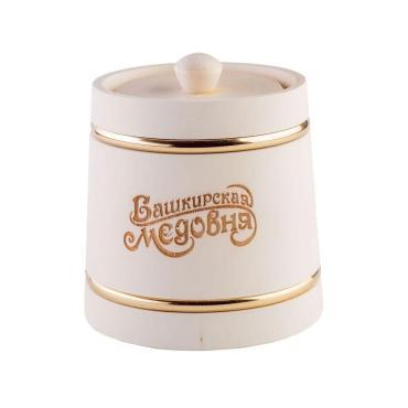 Мёд Башкирская медовня липовый, 1 кг, подарочная упаковка