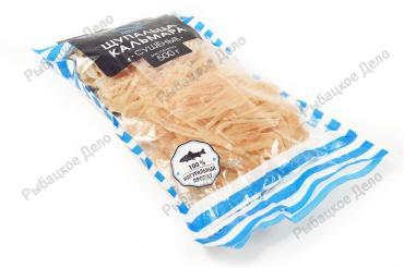 Щупальца кальмара сушёные Дальпико Фиш, 500 гр., пластиковый пакет