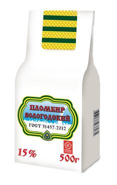 Мороженое Айсберри пломбир 15%, 500 гр., бумага
