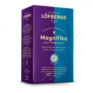 Кофе молотый Magnifika, Lofbergs, 500 гр., картон