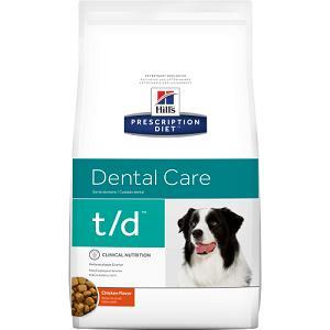 Сухой корм для взрослых собак лечение заболеваний полости рта Hill's Prescription Diet Canine, 3 кг., пластиковый пакет