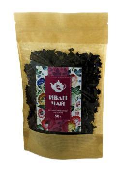 Иван-чай гранулированный с цветочками домашний Добрые традиции, 50 гр., дой-пак