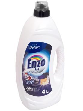 Средство для стирки жидкое для темных тканей Enzo delux black, 4 л., ПЭТ