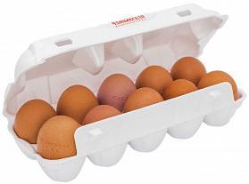Яйцо куриное деревенское отборное с каротином 10 штук Чайковская ПТФ