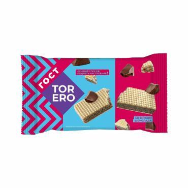 Вафли ГОСТ шоколад Тореро, 200 гр., флоу-пак