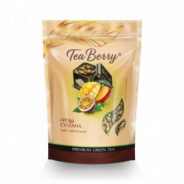 Чай, зеленый с фруктами Теа Berry Грезы Султана, 200 гр., дой-пак