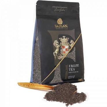 Чай, черный листовой Susan F.B.O.P.F. Tea, 100 гр., дой-пак