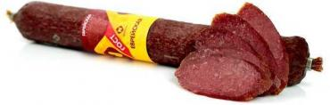 Колбаса еврейская полусухая в/с с/к Останкино, 3,8 кг., оболочка