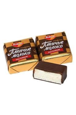 Конфеты Птичие Молоко Сливочно-Ванильный 4 кг., картон