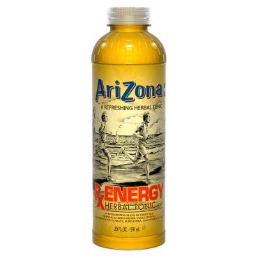 Чай Energy Herbal Tonic,  Arizona, 591 мл.,  ПЭТ