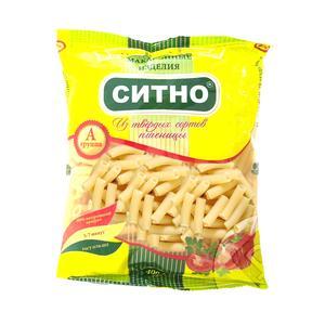 Макароны Трубочки Ситно, 400 гр., пластиковый пакет