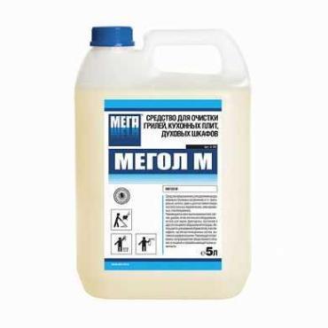 Средство для удаления жира и нагара (жироудалитель) гель Мега АМС, 5 л., канистра