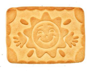 Печенье Сладиал Солнечный привет сахарное, 5,85 кг., картон