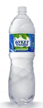 Минеральная вода Букет Чувашии Чебоксарская № 2, 1,5 л., ПЭТ