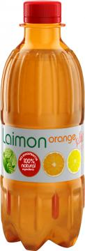 Негазированный безалкогольный напиток Laimon Orange still light, Laimon Orange, 330 мл., ПЭТ