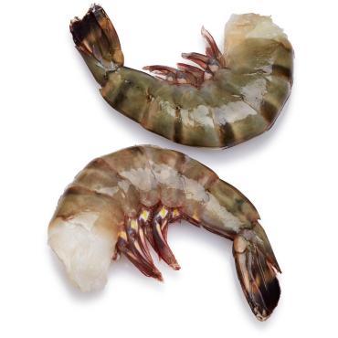 Креветки тигровые БГ в панцире 16-20 1/10, 10 кг., вакуум
