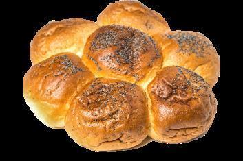 Изделие булочное Нижегородский Хлеб ромашка с маком, 400 гр, ПЭТ