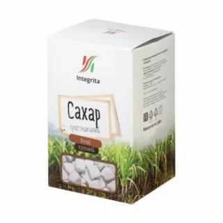 Сахар Integrita тростниковый белый кусковой