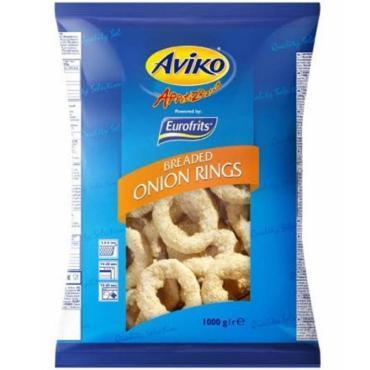 Луковые кольца Авико в панировке