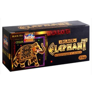 Чай Battler Черный Слон черный в пакетиках