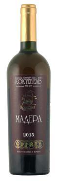 Вино ликерное Крымский парус Мадера белое