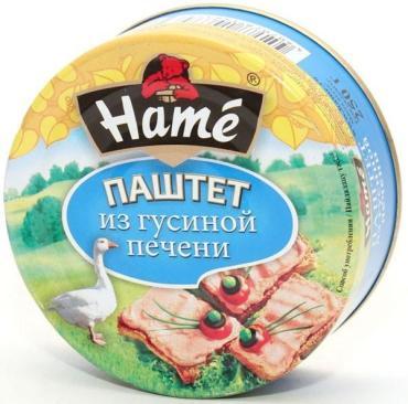 Паштет Hame из гусиной печени Деликатесный