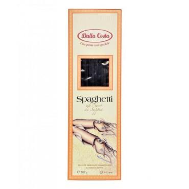 Макароны Dalla Costa спагетти с чернилами каракатицы