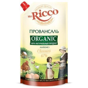 Майонез Mr. Ricco Провансаль Organic 67%