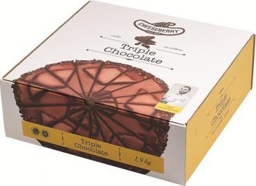 Торт Cheeseberry Тройной шоколад 1,9кг