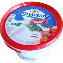 Сыр Милково Моцарелла рассольный фасованный 45% 250 г
