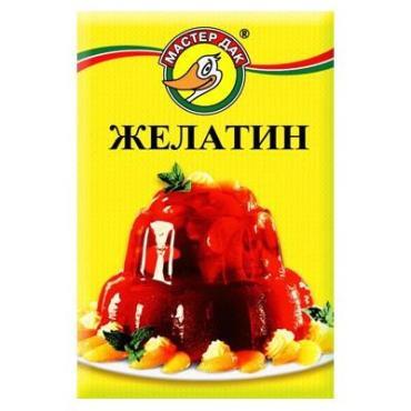 Желатин Мастер Дак пищевой