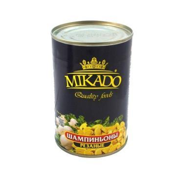 Шампиньоны Mikado резаные