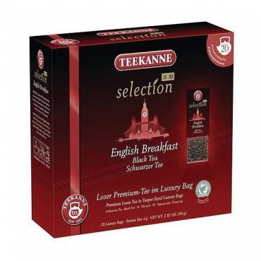 Чай Teekanne Selection English Breakfast черный 20 пакетиков