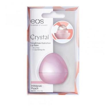 Бальзам EOS Crystal Hibiscus Peach для губ Гибискус и Персик