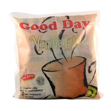 Кофе Good Day Vanilla Latte 3в1 30 пакетов