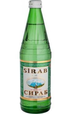 Вода Sirab минеральная газированная