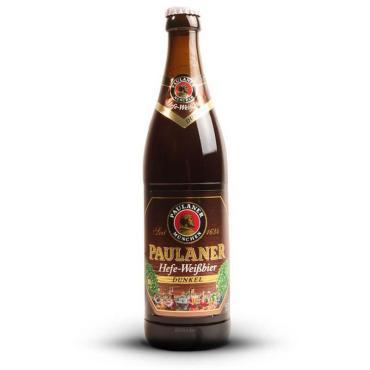 Пиво Paulaner Hefe-Weissbier Dunkel темное нефильтрованное пастеризованное 5,3%