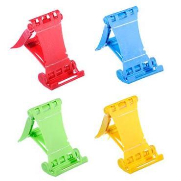 Подставка для телефона\планшета, 9х6см, пластик 4 цвета
