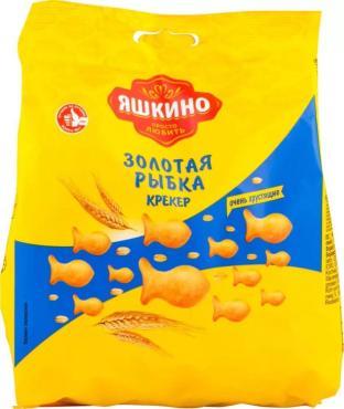 Крекер Яшкино Золотая рыбка