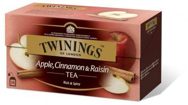 Чай черный Twinings Apple Cinnamon & Raisin 25 пакетов