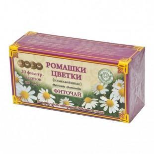 Фиточай Бородинское Цветки Ромашки 20 пак